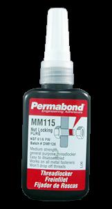Permabond MM115 Threadlocking Adhesive Bottle