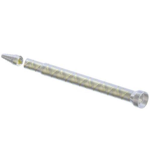 Fisnar 6.35mm 56 Element Luer Lock MS Mixer - 10 Pack