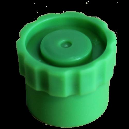 Fisnar QuantX Flat Tip Cap - 50 Pack