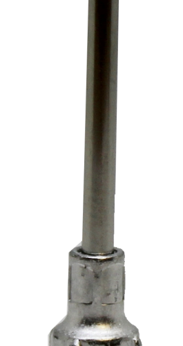 "Fisnar 14ga Aluminium 1"" Blunt End Tip - 50 Pack"
