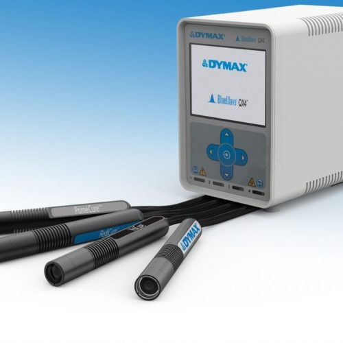 Système de polymérisation ponctuelle à têtes multiples Dymax QX4 LED
