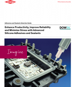 Dow Silicone Adhesives and Sealants Product Selector Cover