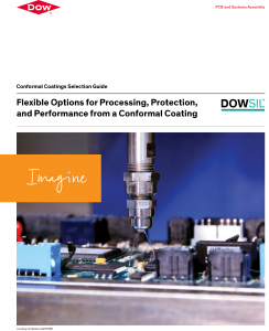 Dow Silicone Conformal Caotings Product Selector Cover